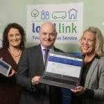Sarah Togher, Peter Hynes and Orlagh Denneny pictured together for website launch